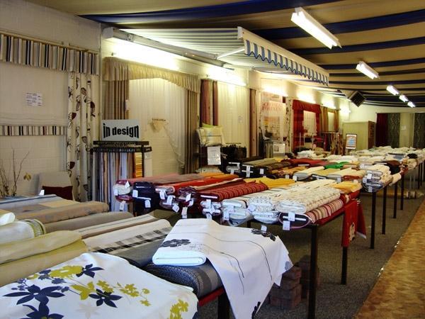 SB Gardinen in Hamm   Verkaufsraum für Gardinen, Polsterstoffe